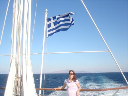 Durante um cruzeiro que fizermos a 3 ilhas gregas: Hydra, Poros e Egina.